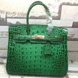 De beroemde Manier van de Handtas van de Ontwerper Dame Leather Handbags Crocodile Leather Emg4810