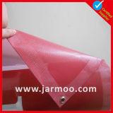 Дешевое изготовленный на заказ знамя PVC сетки