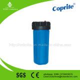 """boîtier de crépine de 10 """" Grands bleus avec la pression d'utilisation élevée"""