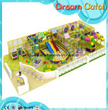 Maison de théâtre en bois d'enfants de qualité/cour de jeu d'intérieur d'intérieur Playsets de gosses