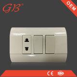 電気壁スイッチおよび電気壁のソケットスイッチ
