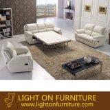 Sofà moderno del cuoio della mobilia a Foshan (LR047)