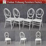 Weißer Wedding Phoenix-Stuhl mit beweglichem Sitzkissen Yc-A50-02