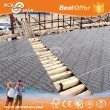 型枠のための架橋工事の材木のタケ合板