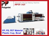 Une machine en plastique plus élevée de Thermoforming de cuvette de la vitesse Pet/PP (PPTF-70)