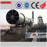 Secador de cimento rotativo na linha de produção de clinker de cimento