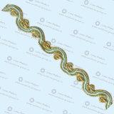 Утеска Lace-09 высокого качества цветастая причудливый