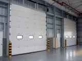 オーバーヘッドドアの修理工場のドアの金属のガレージのドア(HzSD020)