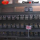 Spoor van de Trein van het Staal van de Spoorweg van de Prijs van de fabriek 38kg het Op zwaar werk berekende