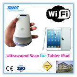 Scanner senza fili di ultrasuono del collegamento di WiFi del iPad del cellulare di Saumsang Apple LG