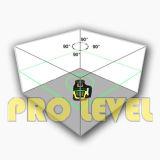 Verde nivelamento automático nível duplo laser rotativo nível com grande display LCD (SRE-207G)