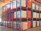 Cremalheira resistente do armazenamento do armazém da pálete do aço/metal