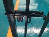Cancello ornamentale d'acciaio galvanizzato decorativo nero di lucentezza
