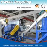 Frasco completo do animal de estimação da classe da fibra que recicl a linha de produção de lavagem