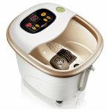 Massager automático del pie con la rueda universal mm-8816 de la calefacción