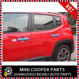 Cubierta roja material de la maneta de puerta del estilo del ABS del accesorio auto para el modelo renegado (4PCS/SET)