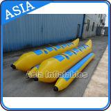 二重列10人の販売のための2つの管が付いている膨脹可能な浮遊物水バナナボート