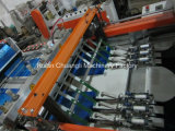 Full Auto Zwei-Line Kunststoff-T-Shirt Beutel, der Maschine