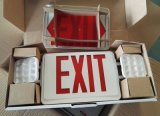 Indicatore luminoso Emergency, UL combinata, segno dell'uscita, segno del LED, segno dell'uscita di sicurezza