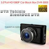 """Chipset completo incorporado del coche DVR de Novatek Ntk96650 HD1080p de la nueva del cinc de la aleación de la cubierta de la caja 3.0 """" cámara del coche, cámara del coche 5.0mega, control del estacionamiento, coche DVR-3005 del H. 264"""