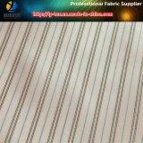 Rosa barato poliéster forro de tela a rayas para los hombres traje / ropa (S114.116)