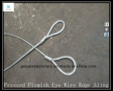 Flemish Eye Steel Wire Rope Sling Fabricante
