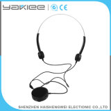 Prótesis de oído recargable atada con alambre negra de la conducción de hueso