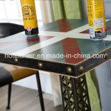 다방을%s 고품질 앙티크 철 탑 테이블