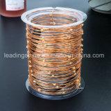 Свет шнура риса Multi-Color цветастого провода медистого серебра миниый для украшения праздника