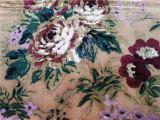 Напечатанный Silk бархат в картине цветка
