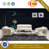 Sofa de bureau de cuir véritable, meubles de bureau, sofa de loisirs (HX-CS082)