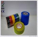 Adhésif à simple face et bande électrique matérielle d'isolation de PVC