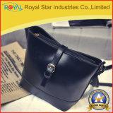 Fornecedor de China da bolsa das mulheres do plutônio do saco de ombro da forma de Brown único