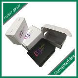 Elegante caja de embalaje cosmético con la impresión de encargo