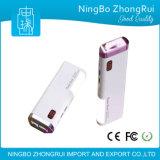 0000 Milliamperestunde 3 USB-Energien-Bank mit Batterie-Anzeiger und bunter LED-Beleuchtung