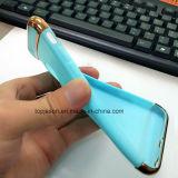 Tres porciones que electrochapan la caja suave del teléfono para el iPhone 7/7 más