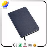 Caderno de couro do diário do papel do Hardcover do plutônio do costume profissional