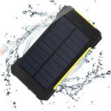 Impermeable portátil de la batería de energía solar Banco 6000mAh recargable