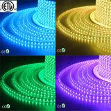 ETL 120V LEDのリボン220V 5050 RGB LEDの棒状螢光灯による照明