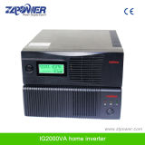 DC доработанный высокой частотой синуса волны 12V к инвертору силы AC 220~240V 600W LCD домашнему