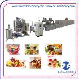 가득 채워진 사탕을위한 기계를 만드는 젤리 생산 입금 선 사탕