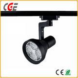 Luz de pista LED 7W para loja de roupas Projectores de iluminação decorativa