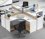 現代家具2のシートワークステーション木のオフィスの区分(HX-NCD336)