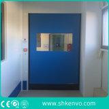 Puerta rápida autorreparadora del rodillo de la tela del PVC para el sitio limpio