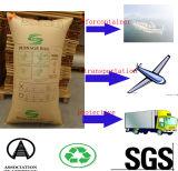 De bruine Luchtkussens van het Stuwmateriaal van het Document van Kraftpapier als Kussen in Vervoer Over lange afstand