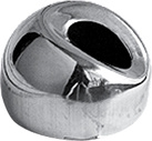 Montaggi inossidabili del corrimano per la sfera dello specchio