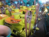 Pequeña máquina espiral de la prensa de petróleo