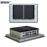 fanlessデザイン12.1インチ2*のLANによって埋め込まれる産業接触パネルのパソコン