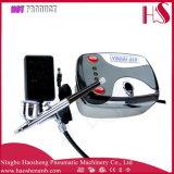 HS08-3AC-Sk de MiniCompressor van de Lucht voor de Make-up van het Luchtpenseel plaatste de Uitrusting van de Spijker van de Naald van 0.4mm