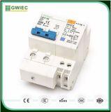 Baixo disjuntor automático 25A do preço RCCB Gwiec Wenzhou 1p+N 2p 3p 3p+N 4p RCBO